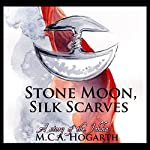 Stone Moon, Silk Scarves | M. C. A. Hogarth