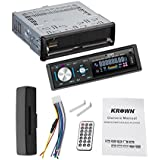 Krown CS-1102 Detachable Panel Car USB Player Stereo With FM And Aux-in Car Media Player