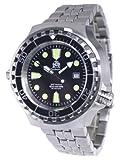 [トーチマイスター1937]Tauchmeister1937 腕時計 ドイツ製1000m防水ダイバー ヘリウムリリースバルブ登載T0038M(並行輸入品)
