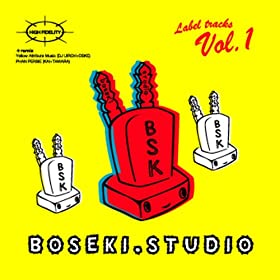boseki.studio Label tracks Vol.1