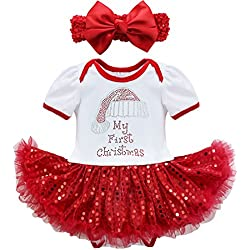 ce3d86fa9f103 Baby's First Christmas Outfit