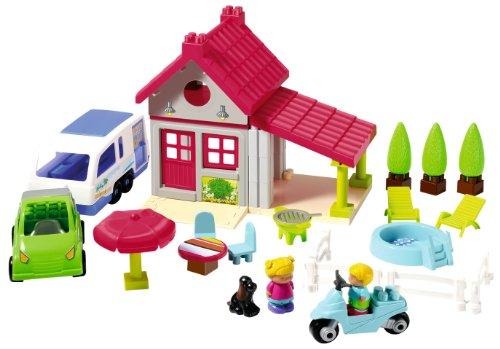 Ecoiffier 3096 jeu de construction maison de vacances abrick wosdkfwo - Jeu de construction de maison ...