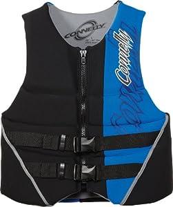 Connelly Skis Men's Black/Blue Hinge Flex CGA Neo Vest (Small)