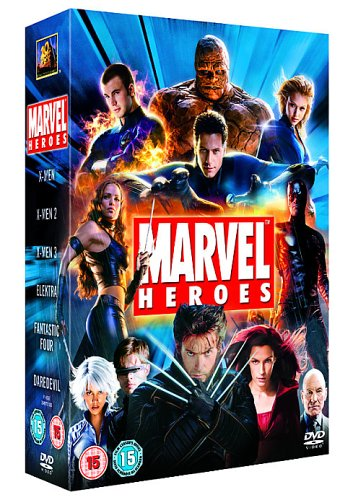 Marvel Heroes 6 DVD Box Set $19.40 @ Amazon