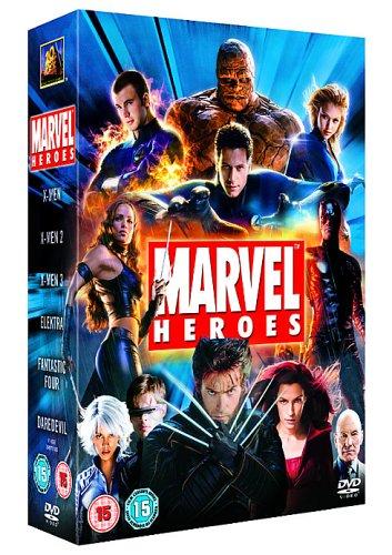 Marvel Heroes 6 DVD Box Set $19.40 @ Amazon