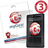 myGear Products (3 Pack) CLEAR LifeGuard Screen Protectors for Amazon Kindle Fire LIFETIME WARRANTY Picture