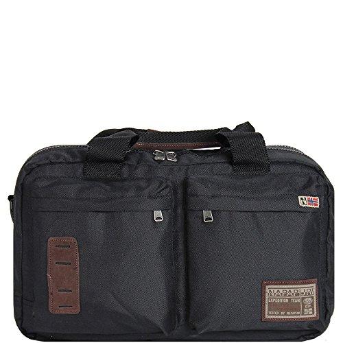 Borsa Napapijri Uomo donna Men Nordland Messenger Bag Tracolla Porta PC 2 comparti briefcase