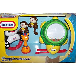 Little Tikes Jungle Jamboree 5 Piece Music Set
