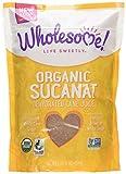 Wholesome Sweeteners, Inc., Organic Sucanat, Dehydrated Cane Juice, 1 lb (454 g)