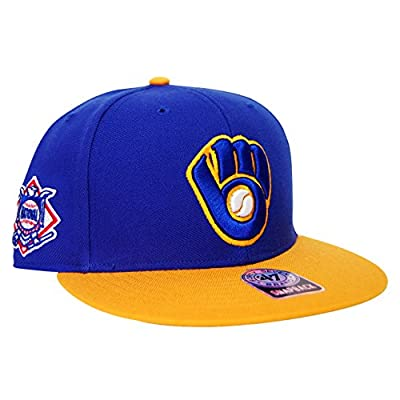 Milwaukee Brewers Big Shot Basic Snapback Hat - Royal