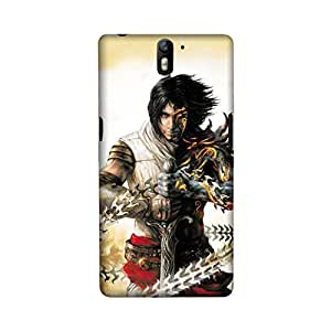 OnePlus One Perfect fit Matte finishing Fighter Illustration Mobile Backcover designed by Aaranis(Multicolor)