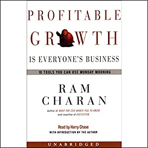 Profitable Growth is Everyone's Business Audiobook
