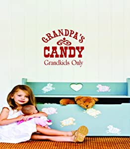 Grandpas Candy Grandkids Only Sign Picture