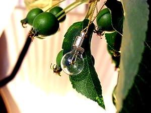 アクビ Aquvii light bulb 電球ネックレス or ピアス (ピアス)