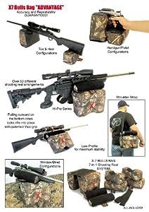 BULLS BAG #90007-APG X7 ADVANTAGE Advanced PRO-Shooting Rests