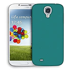 Snoogg Pixel Art Turquoise Printed Protective Phone Back Case Cover For Samsung S4 / S IIII