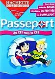 Passeport : Du CE1 vers le CE2...