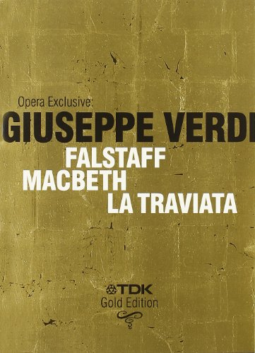 Falstaff / Macbeth / La Traviata -Verdi - DVD