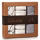 Product Descriptionaden + anais 3 Pk Bamboo-Rayon Swaddle - MoonlightFor countless generations, mothers have swaddled and cared for their children with muslin. aden+anais has gone one step further to bring you soft, silky bamboo fiber muslin. Natural...