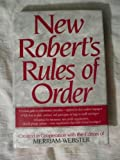 The New Robert's Rules of Order (0765197111) by Rozakis, Laurie