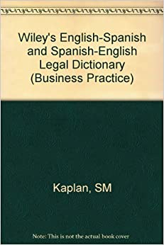 short english spanish glossary on corporate law Comparative law: western european and latin american legal systems, by  j h merryman and d s clark the michie company, 1978 english-spanish 1.