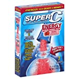 Super C Drink Mix, Vitamin & Mineral, Berry, 7 ct.