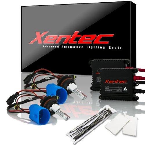 Xentec 9007(Hb5) Hi/Lo 8000K 55W Advanced Slim Ballast Hid Xenon Kit W/ Hi-Beam Halogen (Iceberg Blue)
