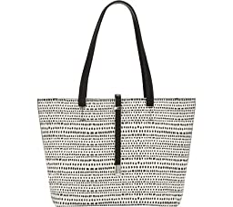 Vince Camuto Leila Small Travel Tote, Bright White, One Size