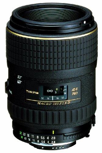 Tokina AT-X M100/2.8 Pro D Nikon Makroobjektiv mit Abbildungsmaßstab von 1:1