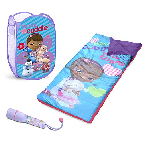Disney Kids Doc McStuffins Toddler Girls Humper, Flashlight and Sleepover Set (My Lil Pony Toddler Bed compare prices)