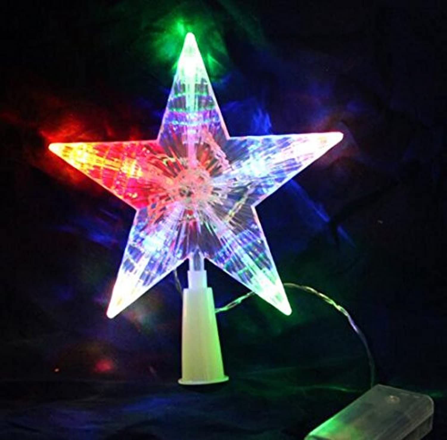 Holiday color changing battery operated led lighted