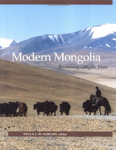 Modern Mongolia Reclaiming Genghis Khan092448652X : image