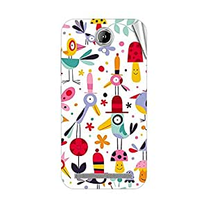 Garmor Designer Mobile Skin Sticker For Gionee GN706L - Mobile Sticker