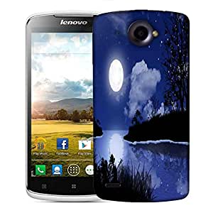 Snoogg Moon Night Designer Protective Phone Back Case Cover For Lenovo S920