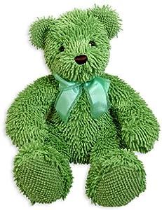 "Stephan Baby Super Soft Best Ever 16"" Nubby Bear, Lime Green"