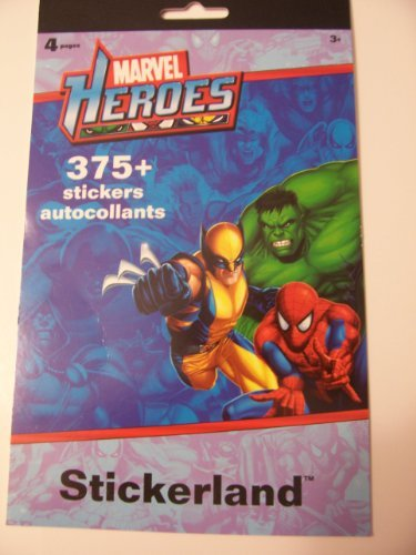 Sandylion Marvel Heroes Stickerland