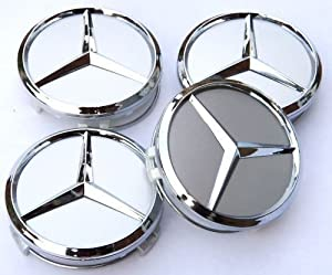 Car-Emall Mercedes-Benz 60mm Wheel Center Caps 4-pc Set Special Offer from Car-Emall