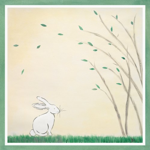 Green Frog Art Forest Friends, Rabbit