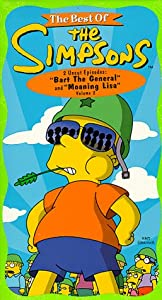 The Best of The Simpsons, Vol. 2 - Bart the General/ Moaning Lisa [VHS]