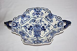 Amazon.com | Vintage Delft Blauw Hand Painted Holland