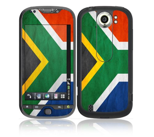 HTC MyTouch 4G Slide Decal Skin - Flag of South Africa