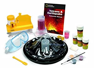 National Geographic Earthquakes and Volcanoes Kit