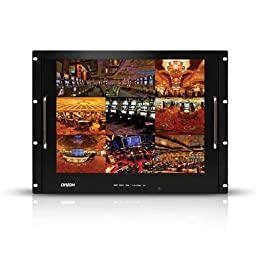Orion Images Corp 17RCR 17-Inch Rackmount Ready LCD Monitor (Black)