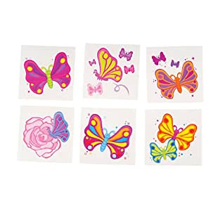 Rhode Island Novelty Rhode Island Novelty Butterfly Temporary Tattoos