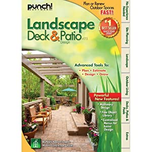 Punch! Landscape, Deck and Patio Designer v17.5 [Download] by Encore Software
