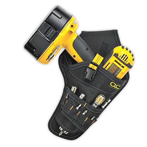 [Custom Leather Craft CLC 5023 - Cordless Drill Holster Tool Belt Pouch Holder] (Hammer And Nail Halloween Costumes)