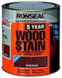 Ronseal 5 Year Woodstain 750ml Rosewood