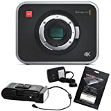 Blackmagic Production Camera 4K with Switronix PowerPack & OCP Screen Protector