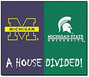 FANMATS NCAA House Divided Nylon Face House Divided Rug by Fanmats