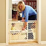 North-States-Supergate-Ergo-Pressure-or-Hardware-Mount-Plastic-Gate-Ivory